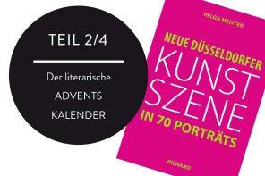 "2. ADVENT: Gewinne 2 x 1 Buch ""Neue Düsseldorfer Kunstszene in 70 Porträts"""